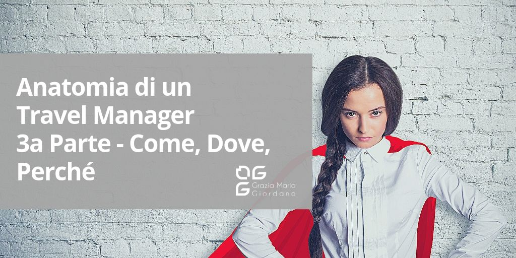Anatomia di un Travel Manager – 3a Parte – Come, Dove, Perché