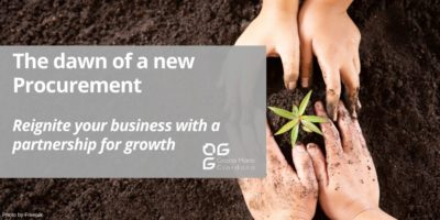 The dawn of a new Procurement – Reignite your business with a partnership for growth
