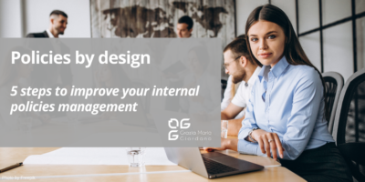 Policies by design – 5 steps to improve your internal policies management