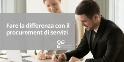 Fare la differenza con il procurement di servizi