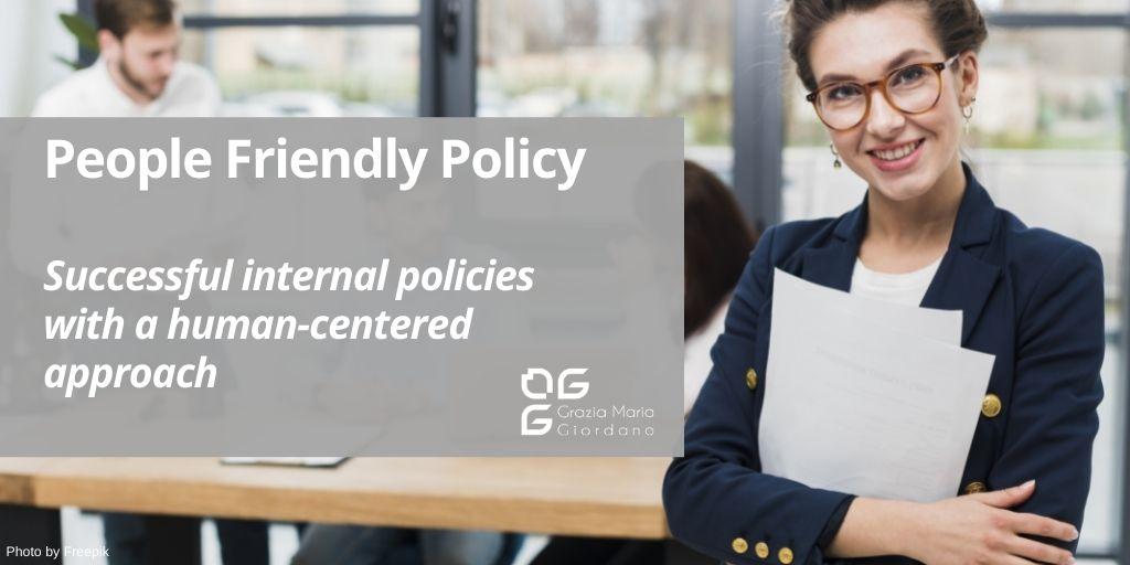 human-centered internal policies